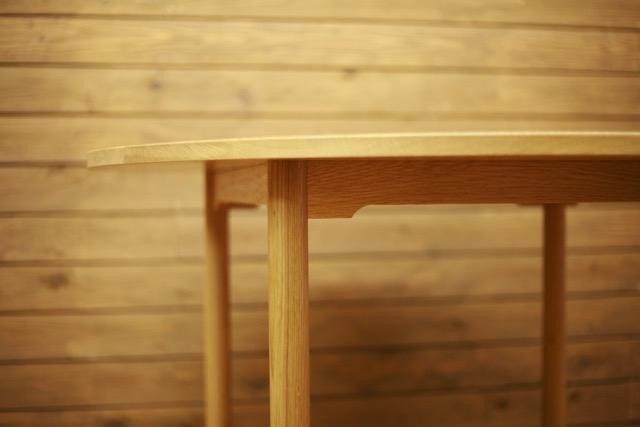 オークテーブル幕板