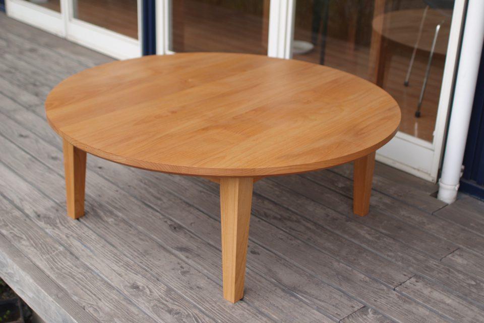丸 ローテーブル