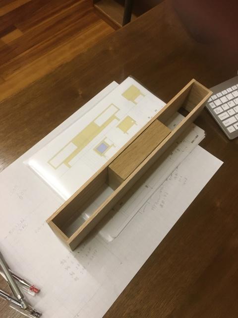 家具の模型作り